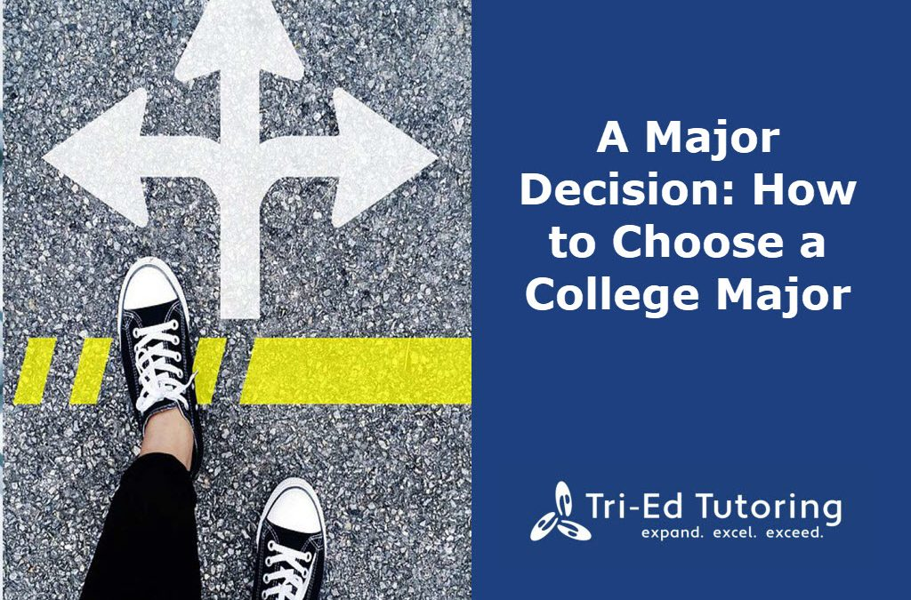 A Major Decision: How to Choose a College Major