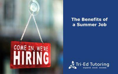 The Benefits of a Summer Job