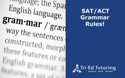 SAT/ACT Grammar Rules
