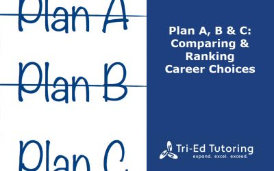 Plan A, B, and C: Comparing and Ranking Career Choices, Part 3