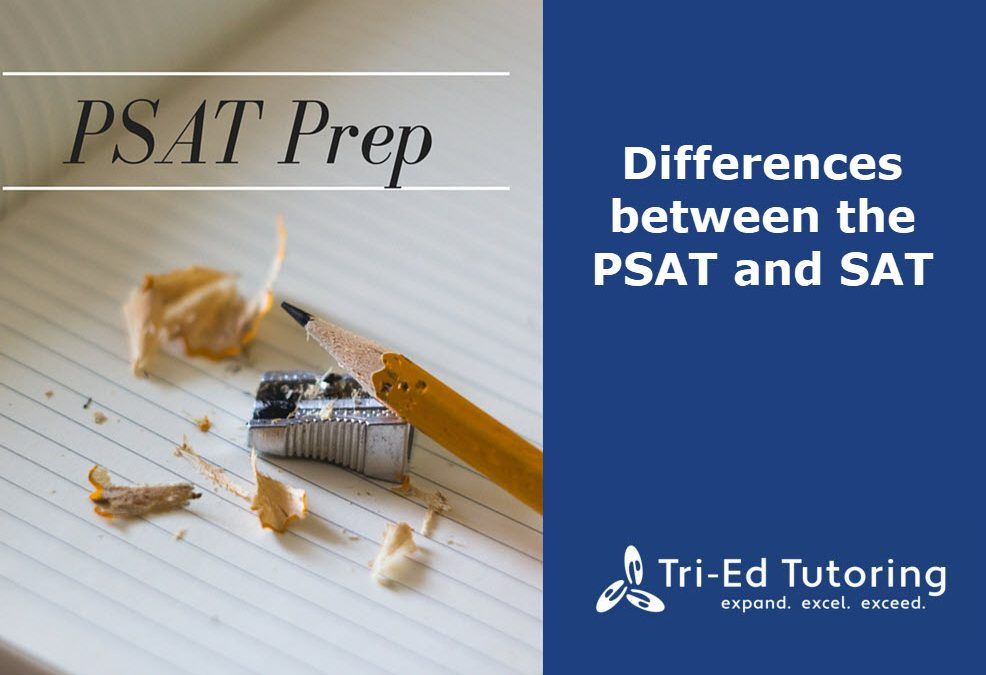 Differences between the PSAT and SAT
