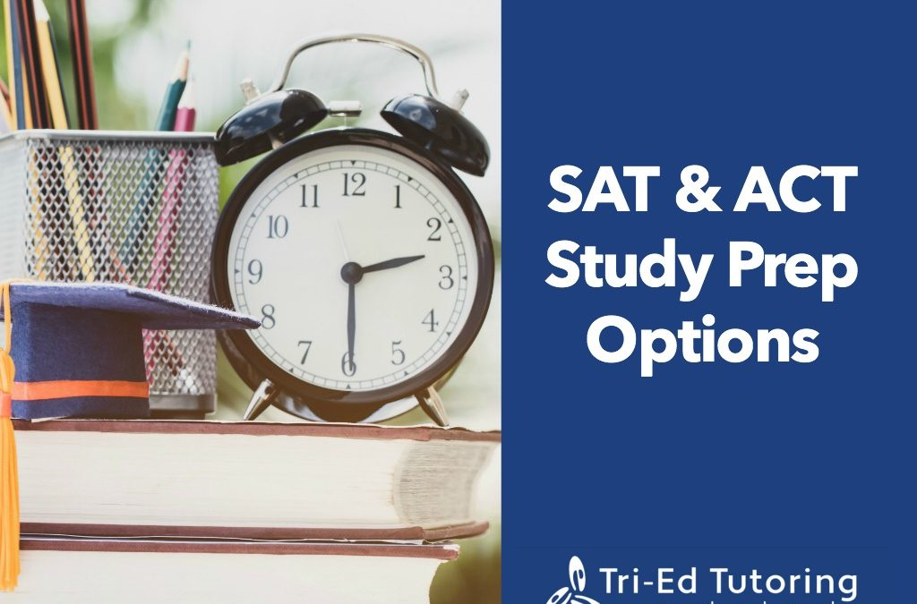 SAT/ACT Prep Study Options