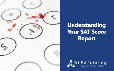 Understanding your SAT Score Report