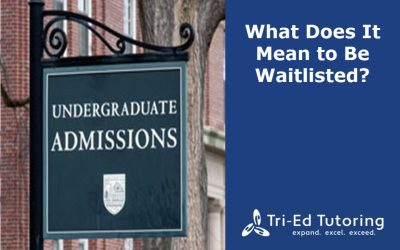 What Does It Mean to Be Waitlisted?