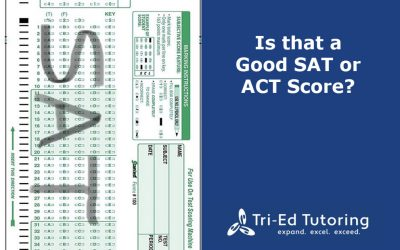 Is that a Good SAT or ACT Score?