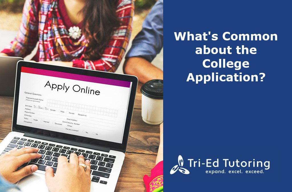 What's Common about the College Application?