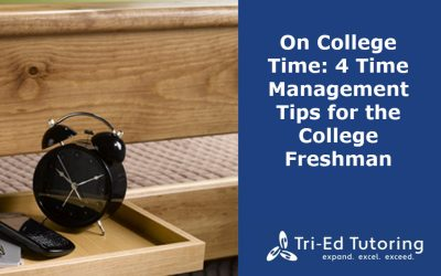 On College Time: 4 Time Management Tips for the College Freshman