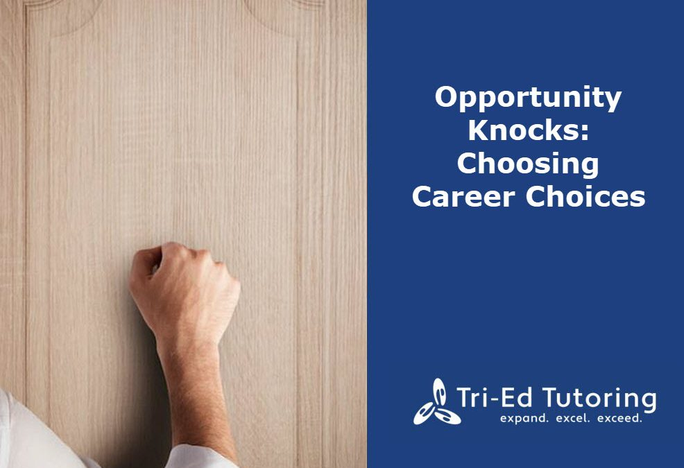 Opportunity Knocks: Choosing Career Paths